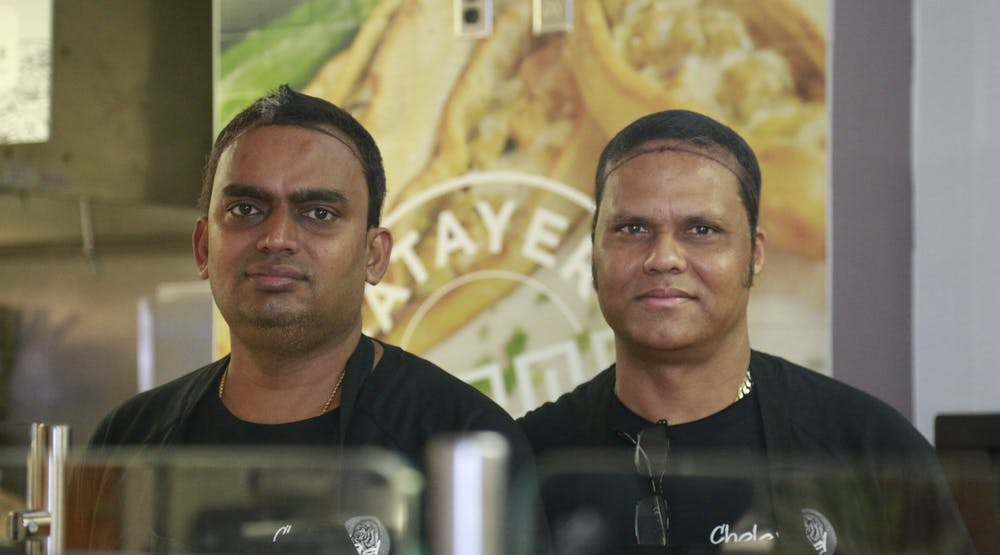 The CholaNad guys: Meet the two chefs helping to bring a taste of south India to UNC
