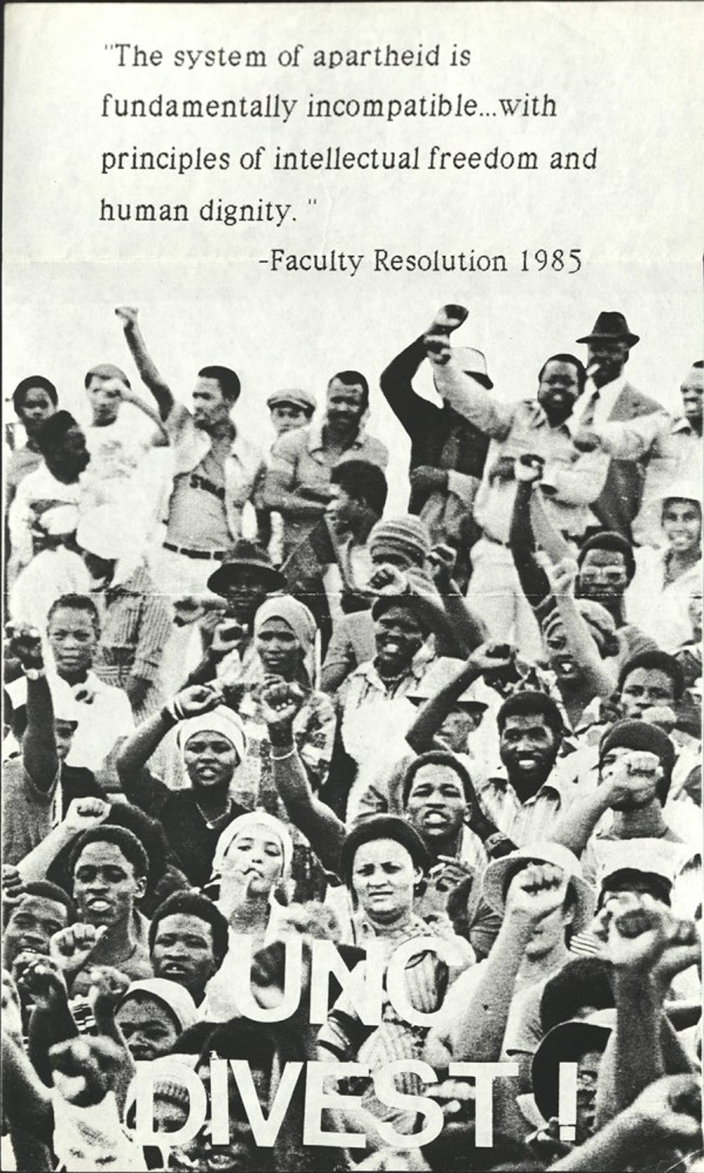Student protests against Apartheid are part of a long history of activism