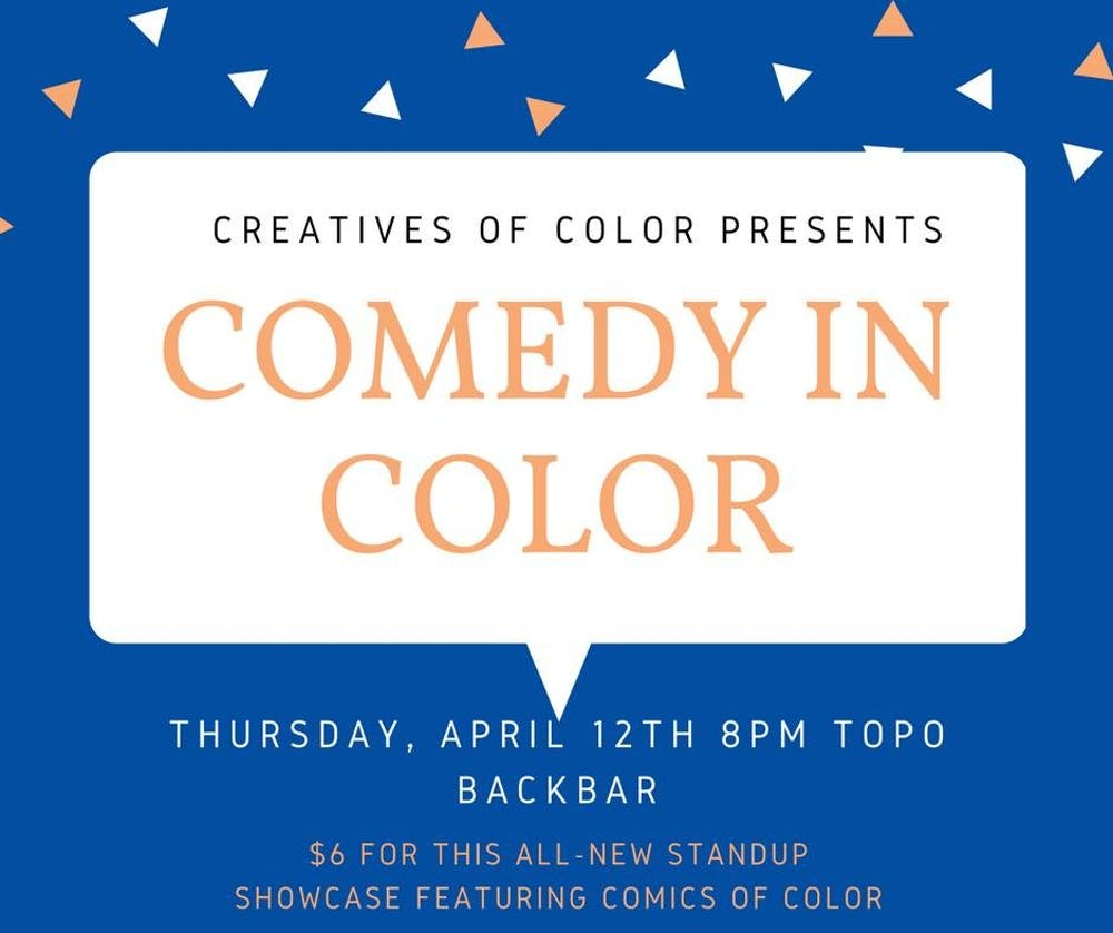Comedy in Color offers validation for people of color on campus