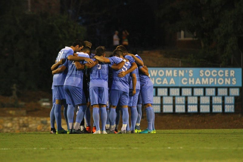 The Tar Heels defeated Pittsburgh 1-0 Friday evening at Fetzer Field.