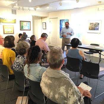 Triangle ArtWorks and Orange County Arts Commission present Arts + Law: Trademark, Copyright and Intellectual Property — a workshop that will allow artists to ask questions about copyright, trademark, the public domain and other legal concerns surrounding creative work. Photo courtesy of Beth Yerxa.