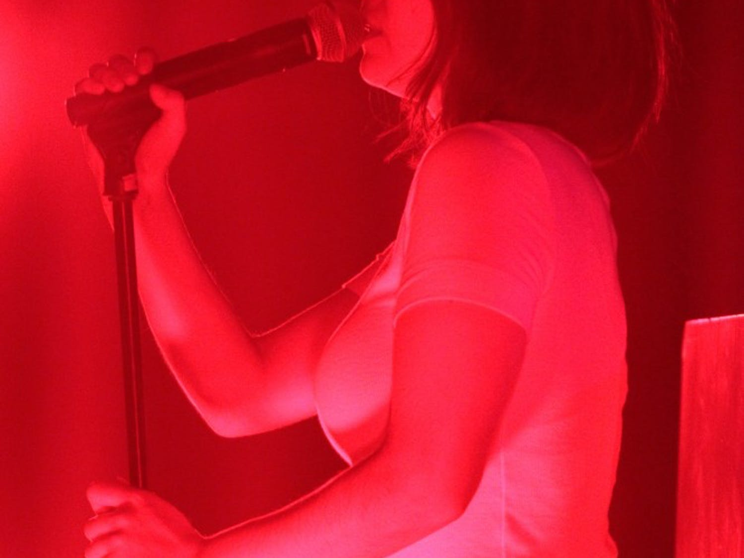 Mitski performed at Cat's Cradle on Wednesday, April 16, 2019 for one of two sold out shows.