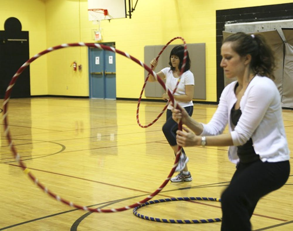 Chapel Hill hula-hooping class gives participants 'second childhood'
