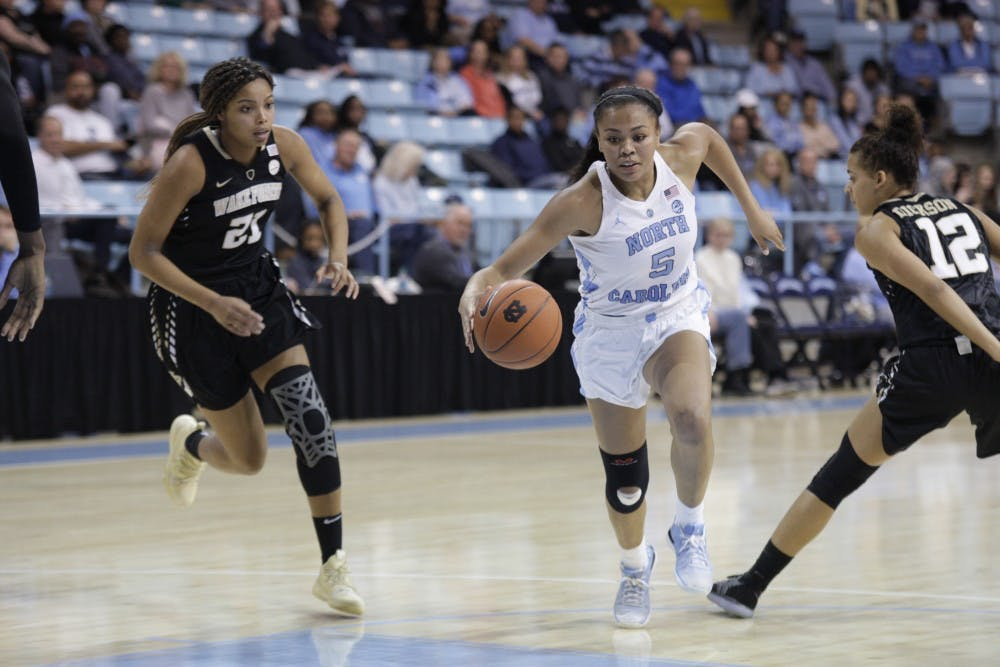 UNC women's basketball struggles early, cannot come back late against Miami