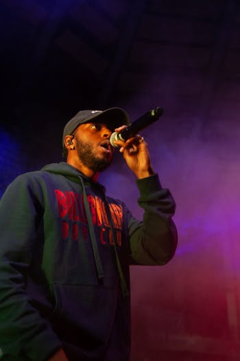 6lack and Retro performed to thousands of fans at Carmichael Arena on Saturday, Apr. 13, 2019 as part of Jubilee 2019 organized by the Carolina Union Activities Board.