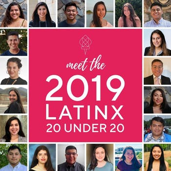 On Saturday, Oct. 12, 2019, LatinxEd's annual 20 Under 20 banquet will celebrate 20 Latinx scholars who exemplify scholarship, community and leadership. Photo courtesy of Verenisse Ponce-Soria.
