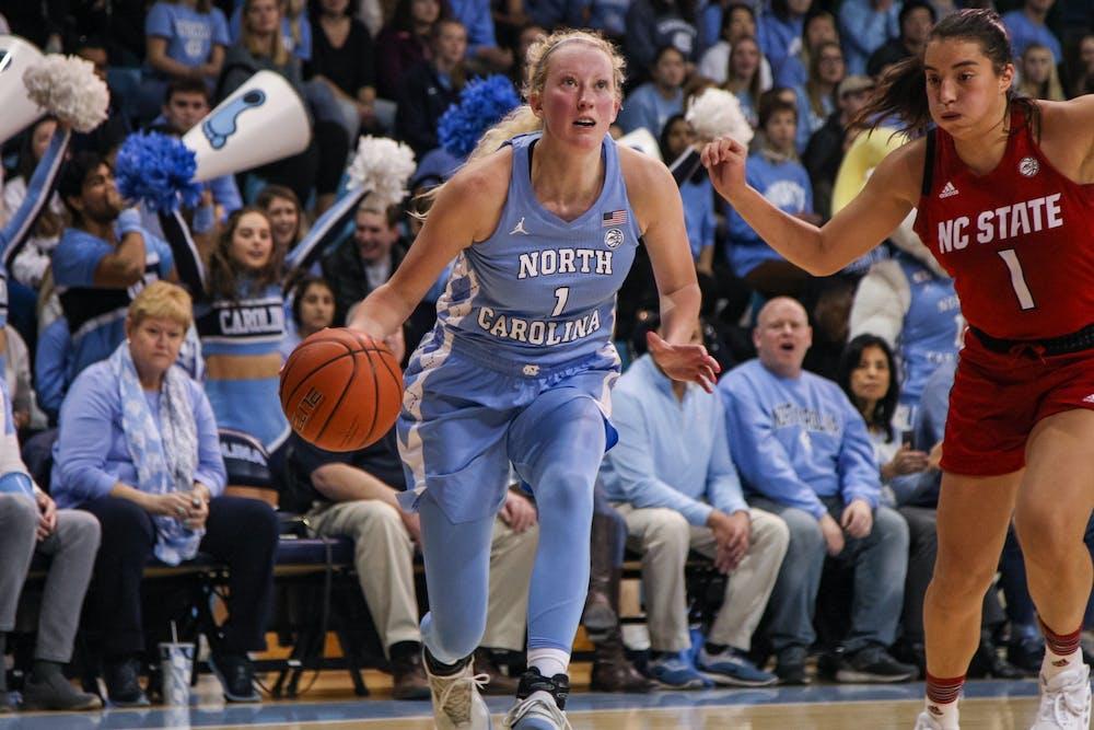 In her final season, UNC women's basketball's Taylor Koenen is writing her own legacy