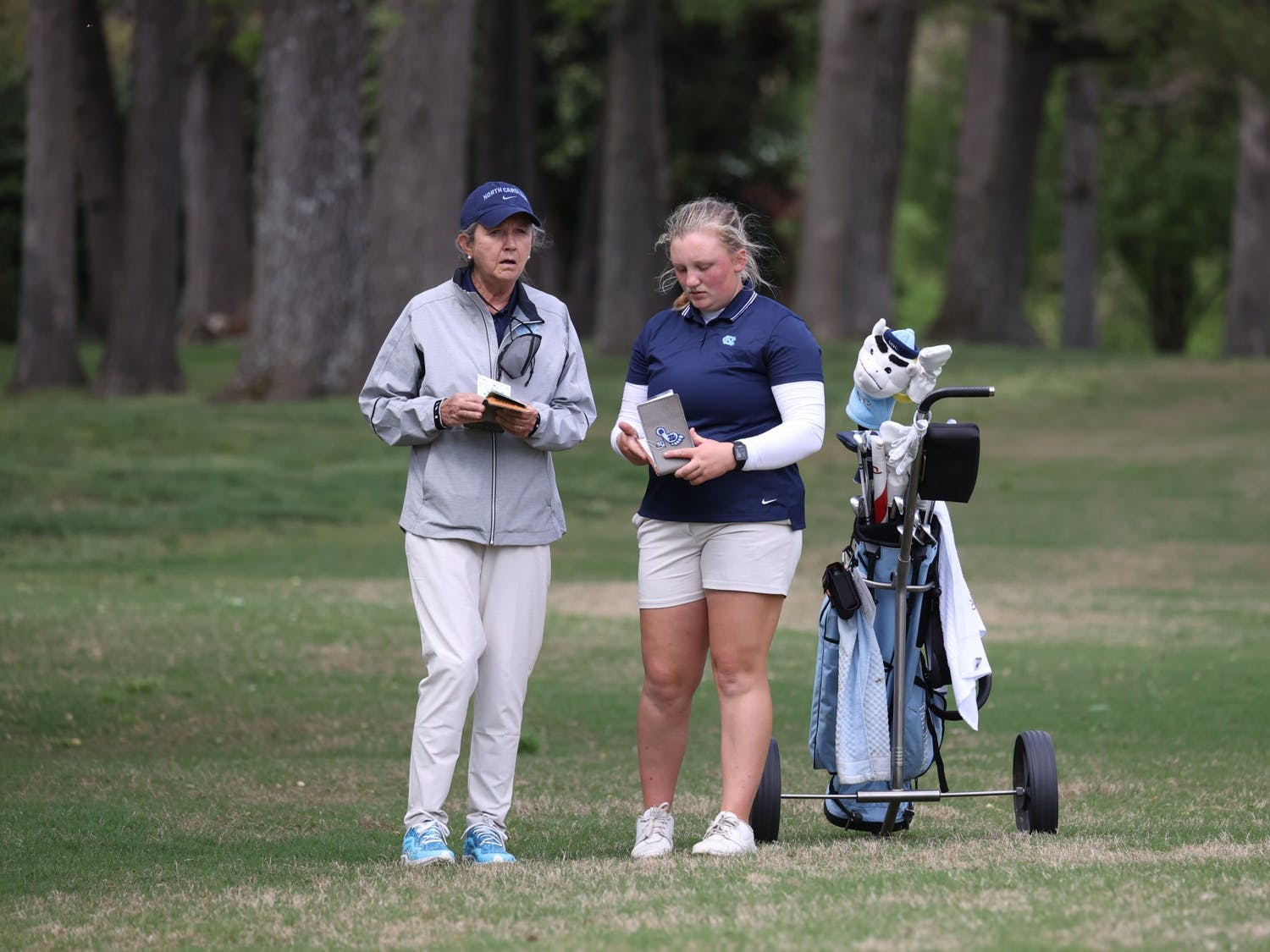 Head women's golf coach Jan Mann is retiring after 12 seasons with the Tar Heels. Photo courtesy of UNC Athletic Communications.