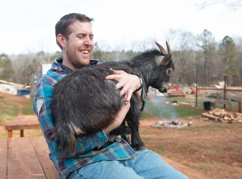 All photos are from the Valentines Day with Goats event at Spring Haven Farm in Chapel Hill on Feb. 9, 2019. All photos are taken by Dustin Duong.