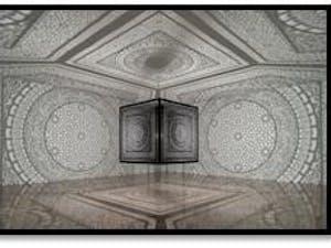 "Pakistani American artist Anila Quayyum Agha's work ""Intersections"" Image courtesy of Hina Muneeruddin"