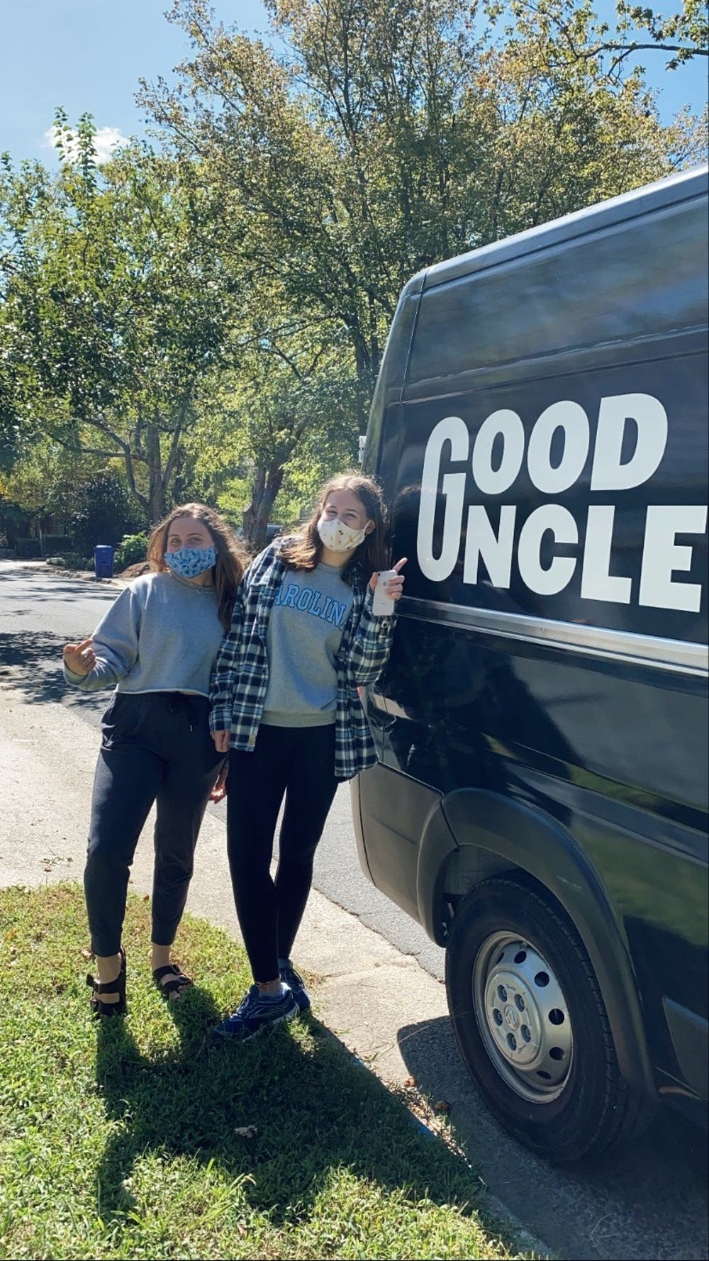 Good Uncle food trucks deliver fresh food to students across Chapel Hill