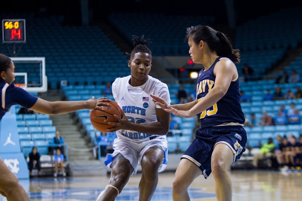 UNC women's basketball drops sixth straight, falls to Notre Dame