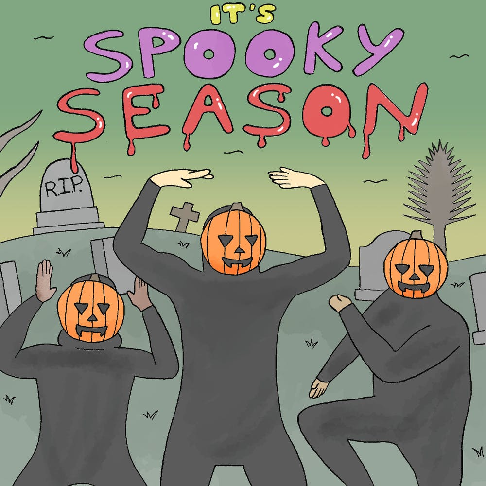 Cartoon: Spooky season