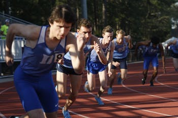 The UNC track and field team competed against Duke on Saturday, April 6, 2019, in Durham at Duke University.