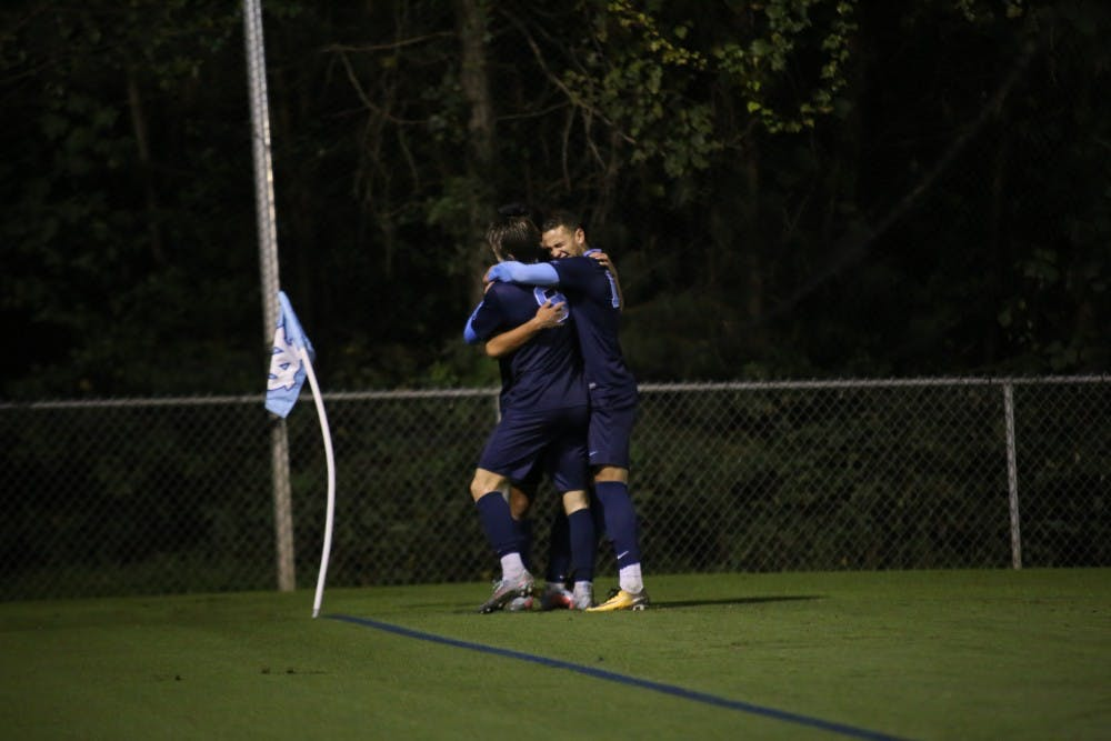 First-year del Rosario proves clutch in UNC men's soccer win over Old Dominion