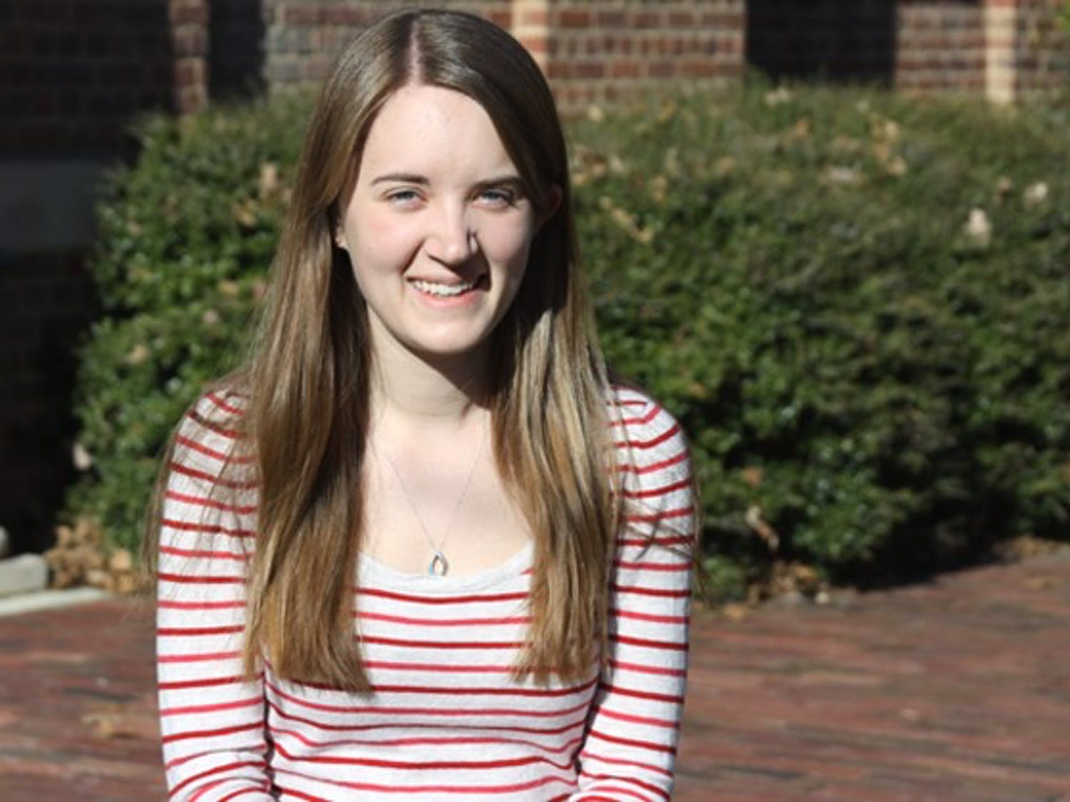 Junior Virginia Sparks was studying abroad in Cairo when the protests began, but was able to return in time to take classes this semester at UNC. She is an Asian studies major with a concentration in Arab culture.