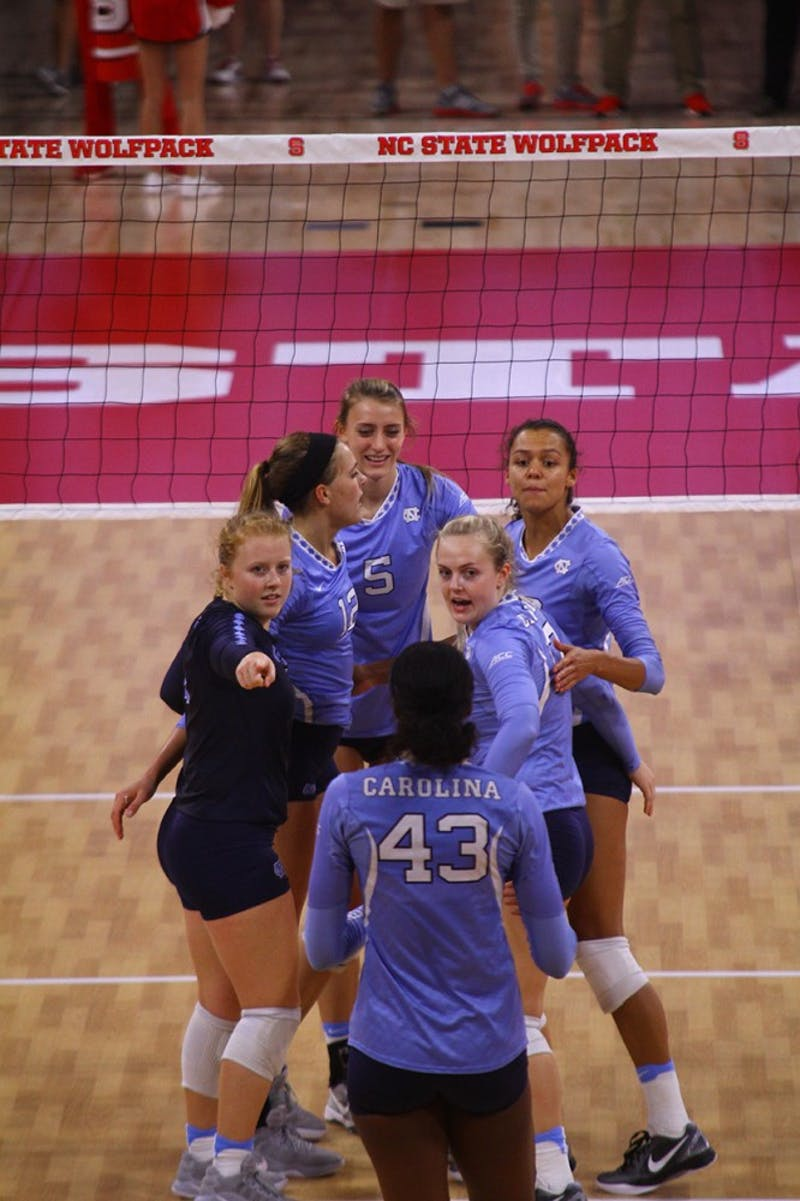 The Tar Heels defeated NC State Thursday evening in Raleigh.