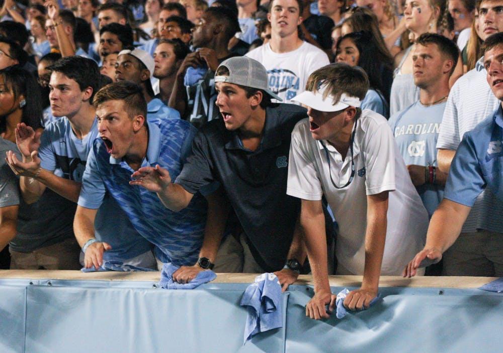 Word on the street: Can UNC football upset Clemson?
