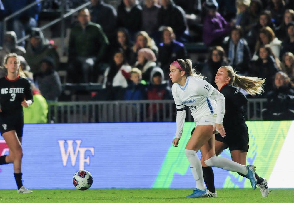 Alessia Russo's goal in double overtime propels UNC women's soccer to ACC Championship
