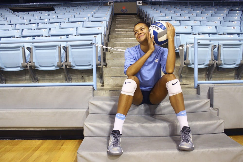 Give up or give everything: Taylor Treacy transforms into leader for UNC volleyball