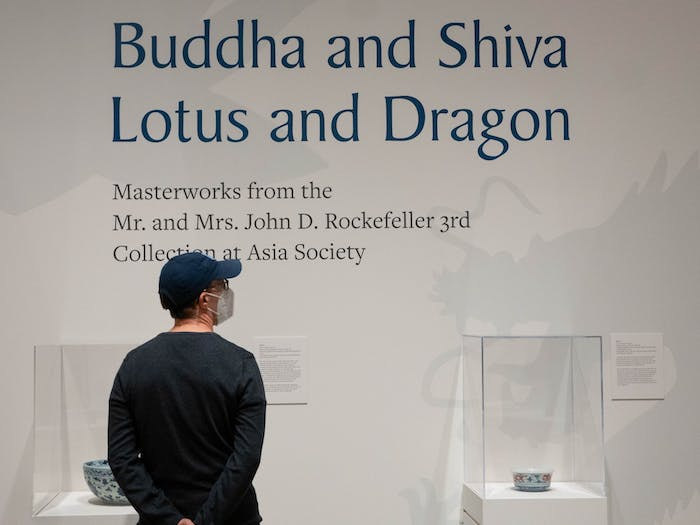 Community members visit the Ackland Art Museum for the Buddha and Shiva, Lotus and Dragon exhibit, which runs from Oct. 8 to Jan. 9. The new exhibit features nearly seventy artistic pieces from ceramics to metalwork.