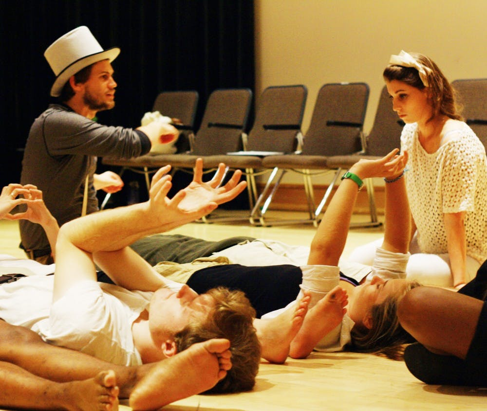 LAB! Theatre puts a new twist on Lewis Carrol's classic, Alice in Wonderland.