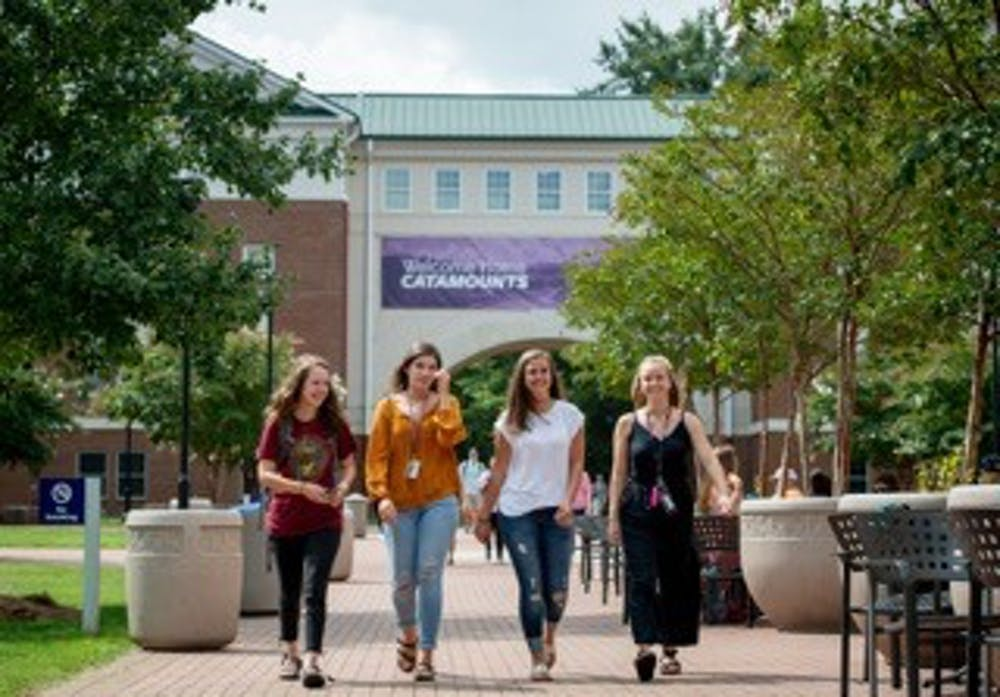 <p>Photo courtesy of Ashley Evans.</p> <p>Western Carolina University welcomes the class of 2022, which is the first to benefit from the NC Promise Plan.</p>