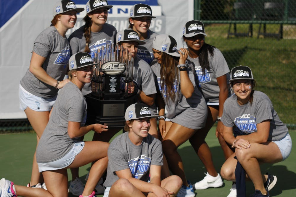 UNC women's tennis crowned as ACC Champions for fourth straight year