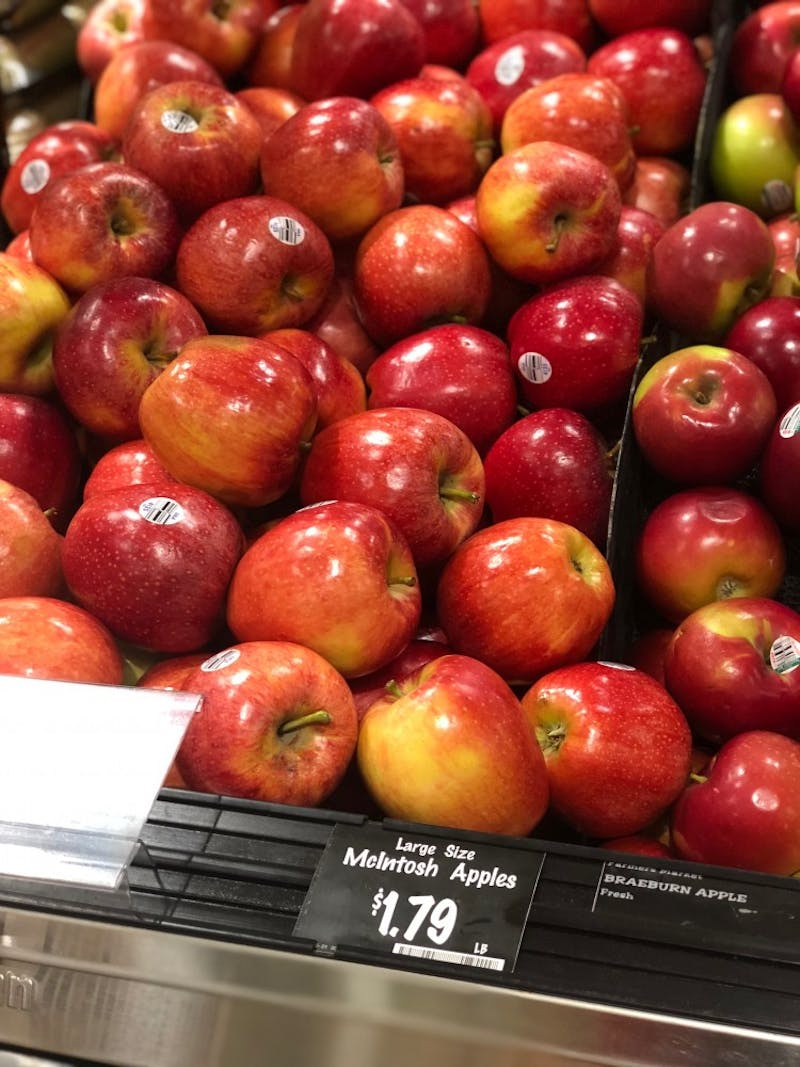 File of apples.