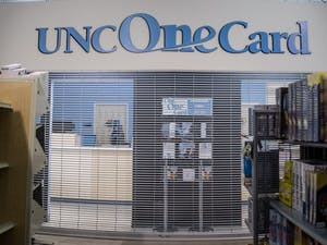 The UNC One Card office is responsible for distributing student IDs.