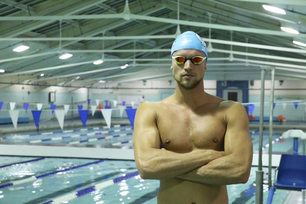 From Cape Town to Chapel Hill: UNC swimmer Craig Emslie transforms when he hits the water
