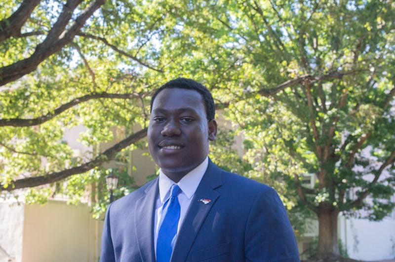 UNC first year and Robertson Scholar Adejuwon Ojebuoboh will serve on Orange County's Housing Advisory Board. The board oversees housing needs, project proposals, and community awareness.