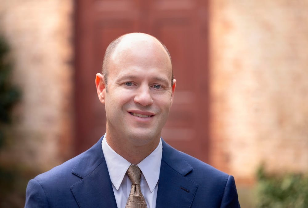 <p>Nathan Knuffman was recently named chief financial officer and vice chancellor for finance and operations. Photo courtesy of Jon Gardiner/UNC-Chapel Hill.</p>
