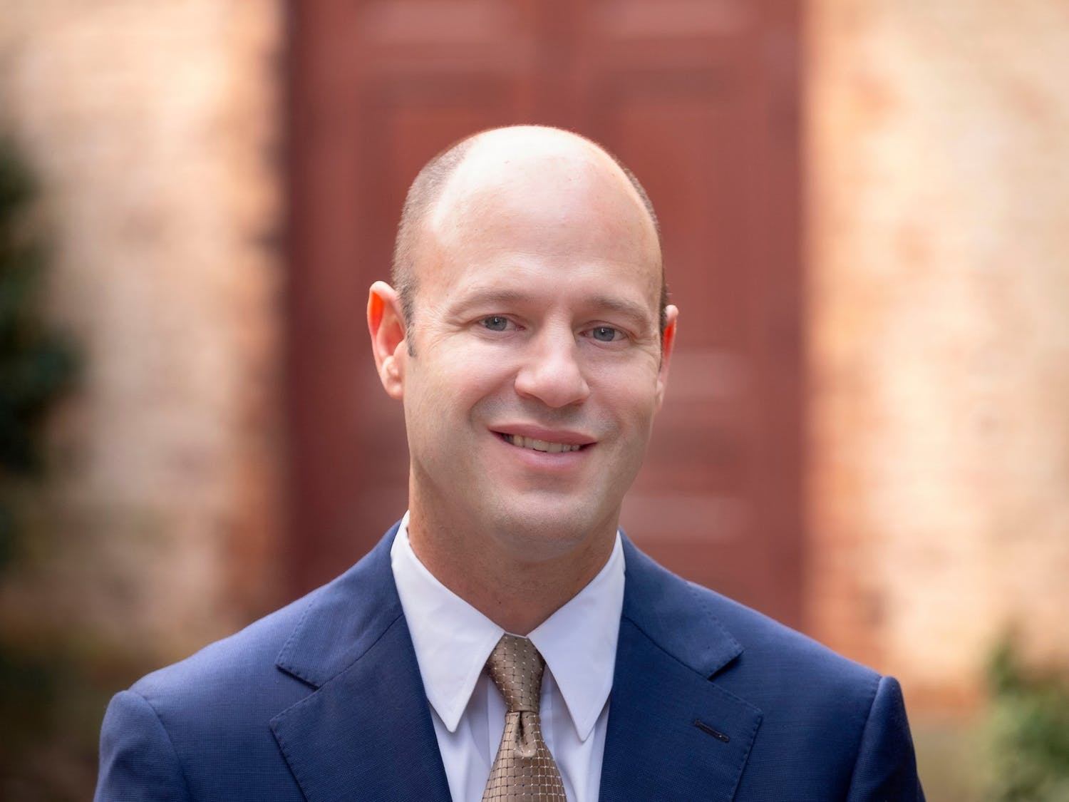 Nathan Knuffman was recently named chief financial officer and vice chancellor for finance and operations. Photo courtesy of Jon Gardiner/UNC-Chapel Hill.
