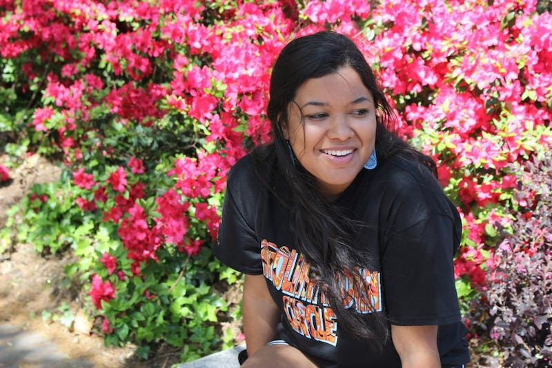 Cheyenne McNeill, president of the Carolina Indian Circle, talks about her experiences as a Native American student at Carolina.
