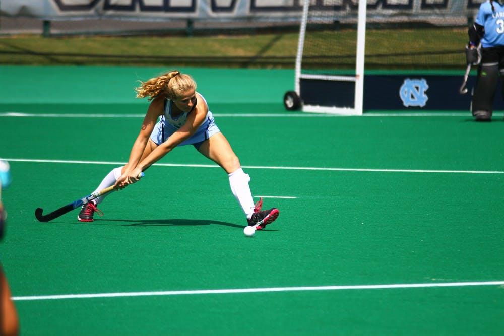 UNC field hockey star Emma Bozek scores first goal since 2014