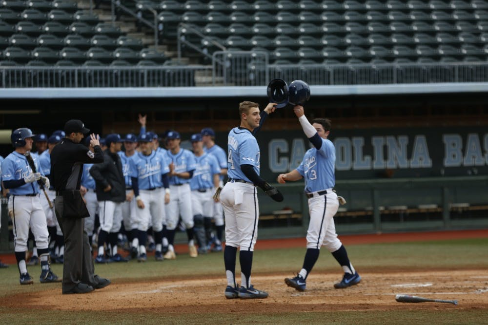 Two newcomers, Dylan Harris and Aaron Sabato, lead UNC to 8-5 win over Miami