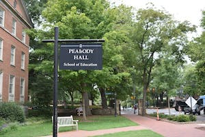 The UNC Latinx Education Research Hub was located in Peabody Hall, home of the School of Education, on Cameron Avenue.