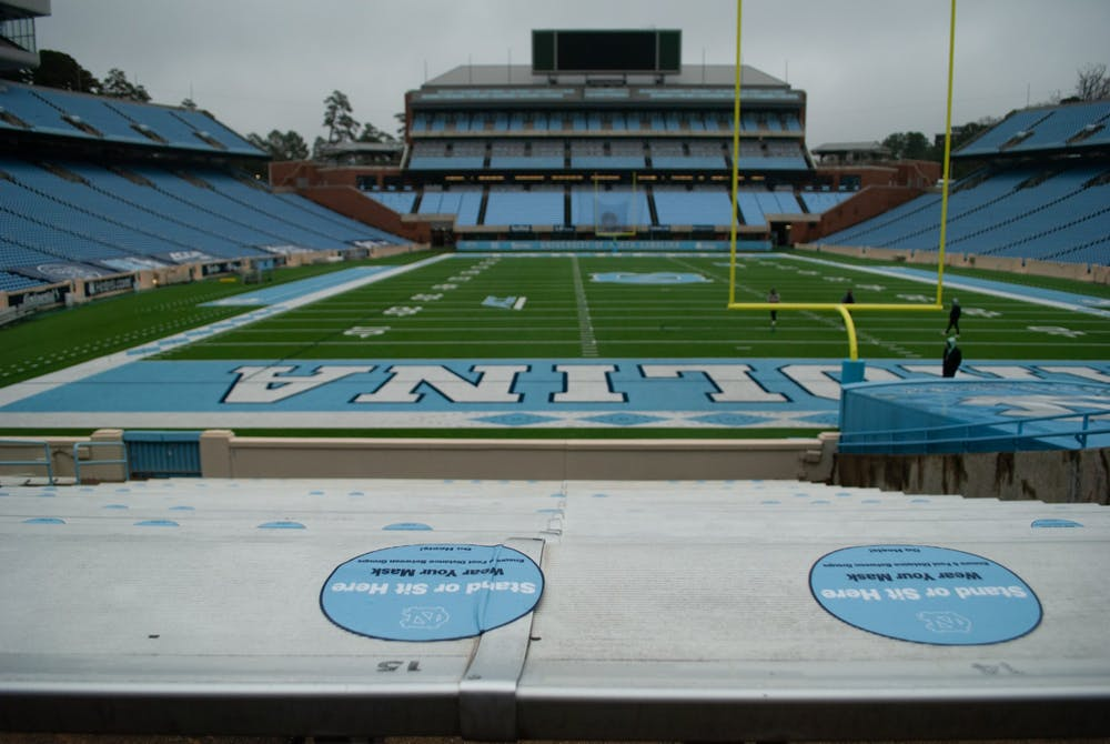 State health and safety guidelines will continue to be followed this upcoming Carolina football season. Fans will again be given several options to donate or receive refunds for tickets if stadium capacity is limited.