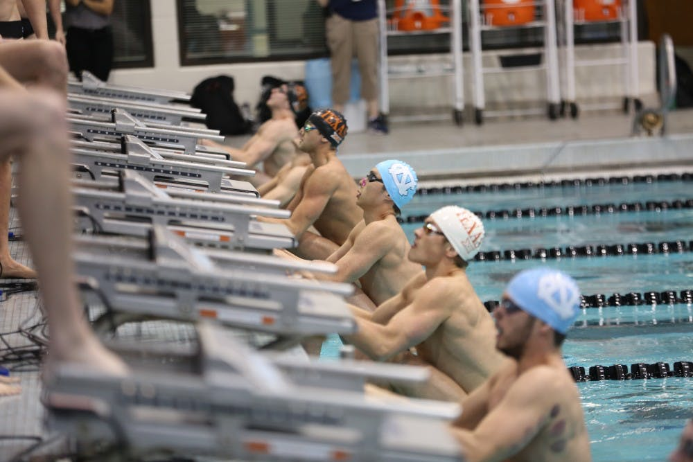 UNC swimming and diving surprise in losses to Texas