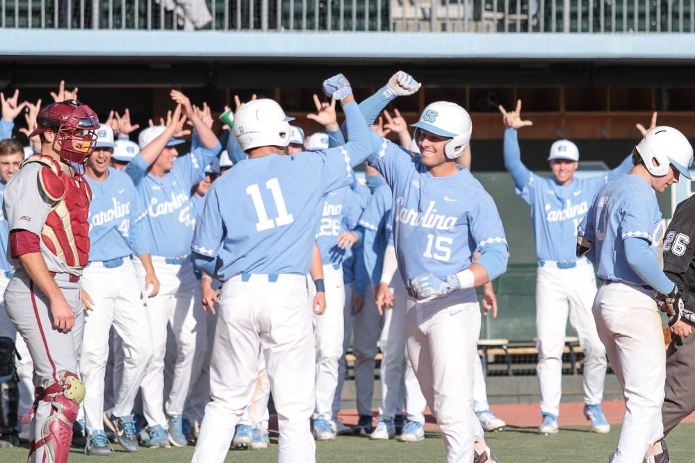 Cody Roberts' inside-the-park home run highlights UNC baseball's 9-3 win over GT
