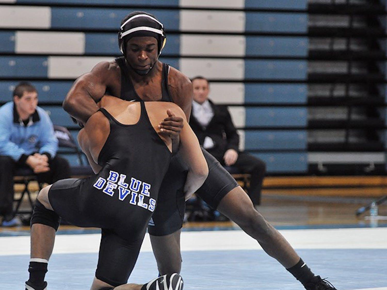 Carolina defeated Duke 30-5 in Monday night's home match in Carmichael Arena.