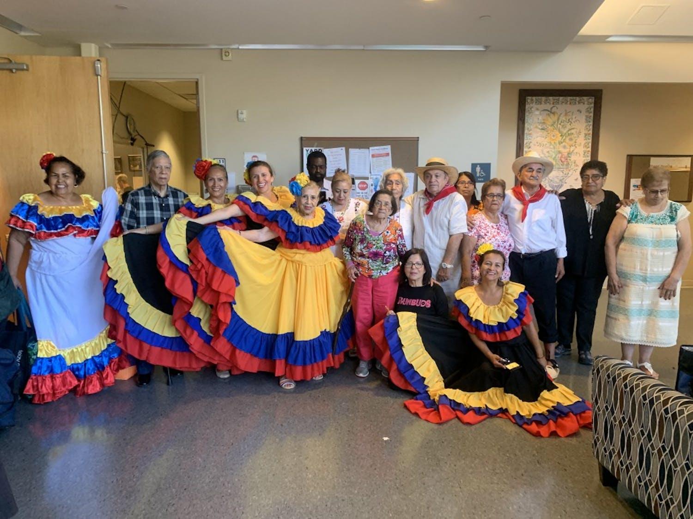 Orange County residents celebrated Hispanic Heritage Month at the Seymour Center on Thursday, Sept. 26, 2019.