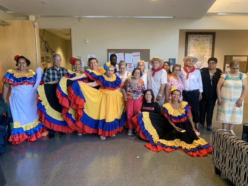 Orange County residents celebrated Hispanic Heritage Month at the Seymour Center on Thursday, Sept. 26, 2019.