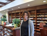 Erin Robinson, a junior studying media and journalism with a concentration in editing and graphic design, does graphic design and outreach for the Carolina Association of Black Journalists.
