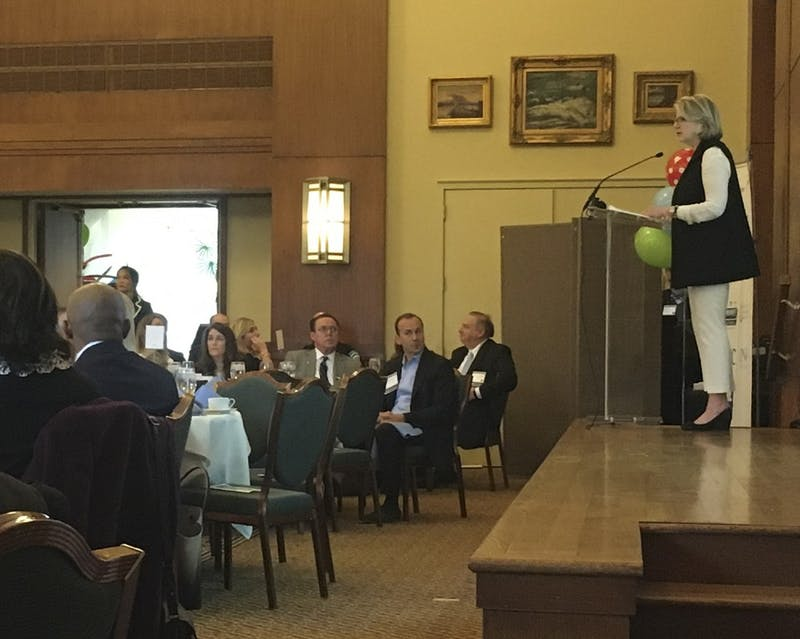 Local business leaders and community officials held their annual Chapel Hill-Carrboro Chamber of Commerce Meeting Thursday morning. UNC System Body President Margaret Spellings spoke at the meeting.