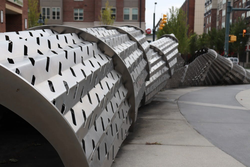 The fate of this downtown Chapel Hill sculpture is in the hands of the public