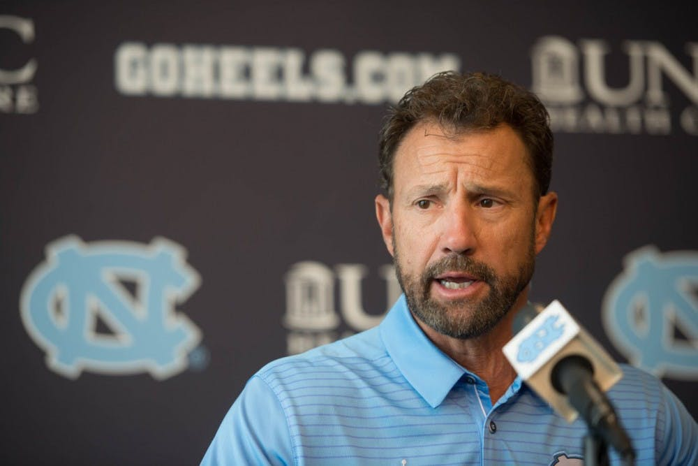 Optimism surrounds UNC football as team holds first media session of regular season