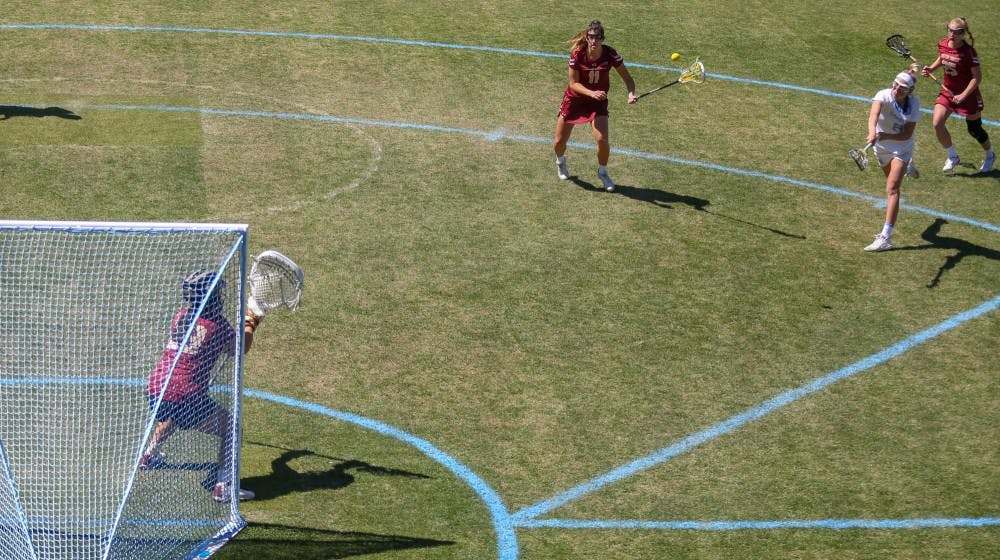 No. 4 UNC women's lacrosse powers over Virginia Tech, 19-5