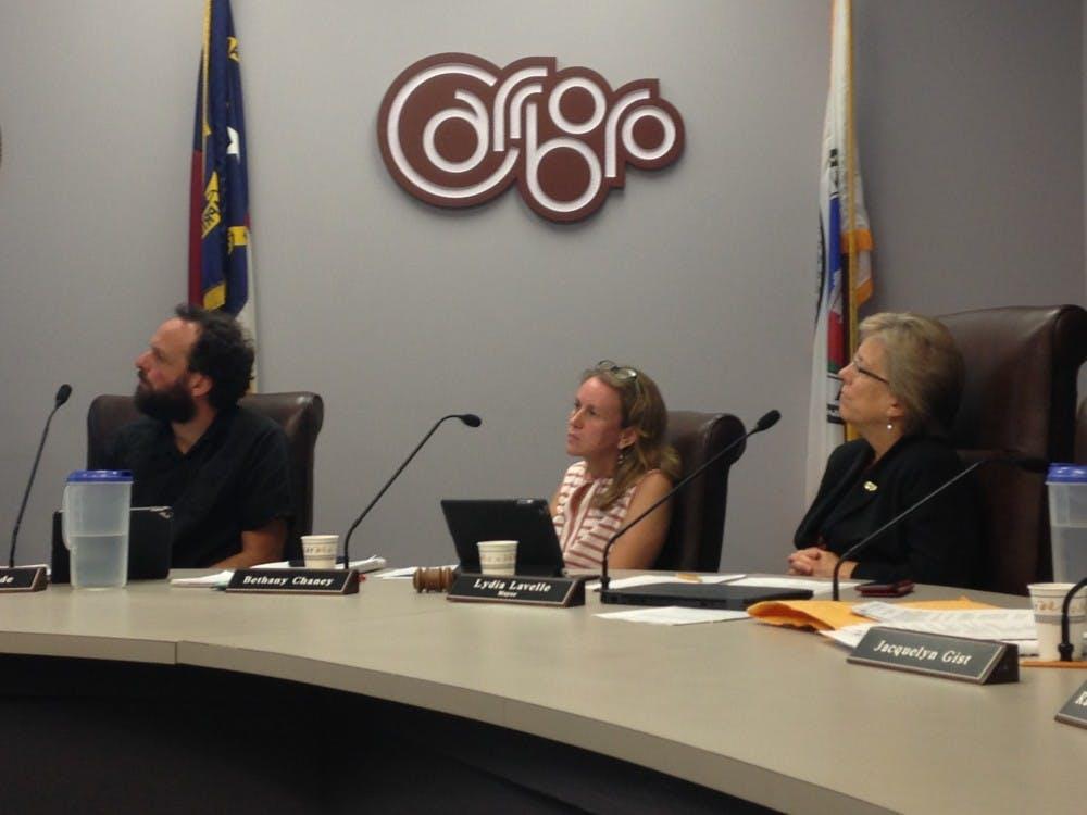 Carrboro Board of Aldermen meets on Sept. 5
